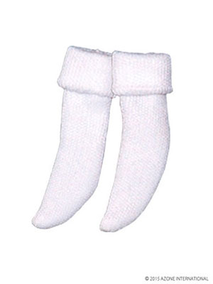 ピュアニーモサイズ PNS三つ折靴下セット ホワイト(ドール用衣装)[アゾン]《発売済・在庫品》