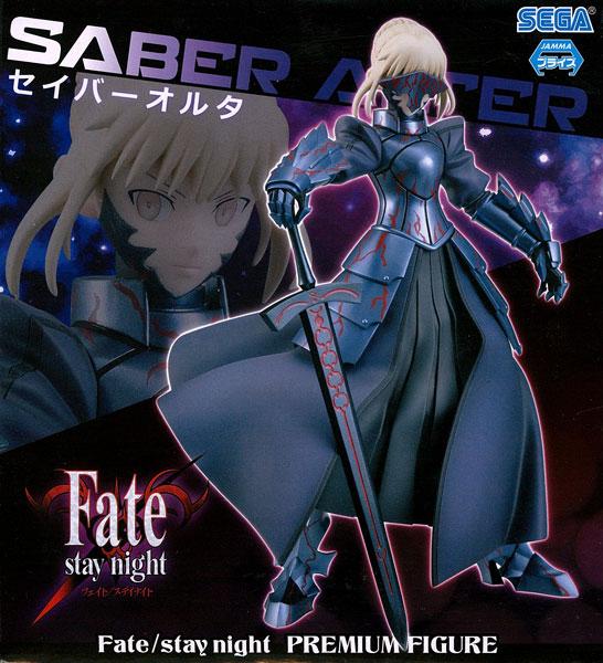"""【中古】(本体A/箱B)Fate/stay night プレミアムフィギュア""""セイバーオルタ""""(プライズ)[セガ]《発売済・在庫品》"""