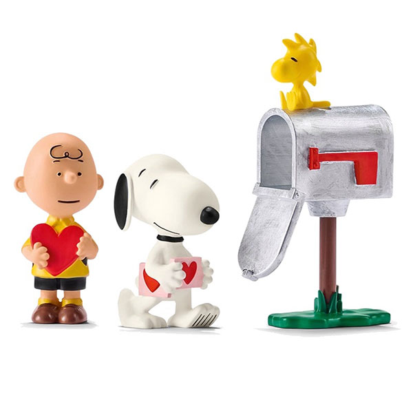 Peanuts - Valentine Day Morning Scenery Pack(Provisional Pre-order)ピーナッツ/ バレンタインデー モーニング シーナリーパックScale Figure