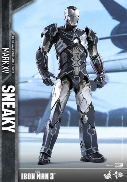 【ムービー・マスターピース】『アイアンマン3』1/6 アイアンマン・マーク15(スニーキー)[ホットトイズ]【同梱不可】【送料無料】《12月仮予約》
