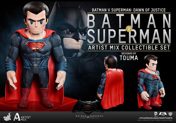 【アーティストMIX】 『バットマン vs スーパーマン ジャスティスの誕生』 TOUMA x スーパーマン[ホットトイズ]《在庫切れ》