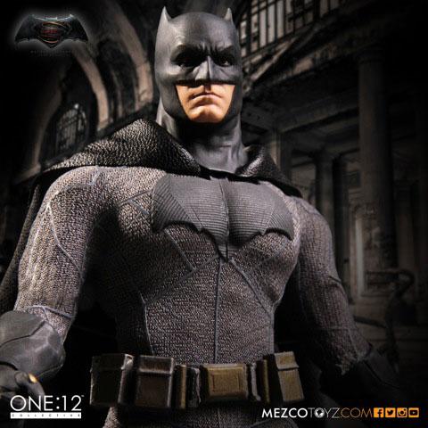 バットマン vs スーパーマン ジャスティスの誕生 1/12スケール アクションフィギュア バットマン[メズコ]《11月仮予約》