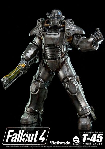 Fallout 4(フォールアウト4) T-45 POWER ARMOR(T-45 パワーアーマー) 1/6 可動フィギュア[スリー・ゼロ]【送料無料】《09月予約》