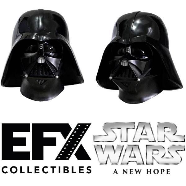 スター・ウォーズ 1/1スケール ヘルメットレプリカ ダース・ベイダー スタントヴァージョン ANH版[eFX]【同梱不可】【送料無料】《在庫切れ》
