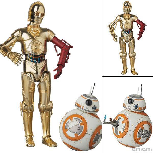 マフェックス No.029 C-3PO & BB-8 『スター・ウォーズ/フォースの覚醒』[メディコム・トイ]【送料無料】《発売済・在庫品》