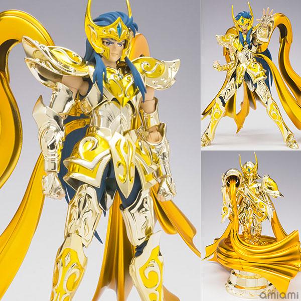 聖闘士聖衣神話EX アクエリアスカミュ(神聖衣) 『聖闘士星矢 黄金魂』[バンダイ]《在庫切れ》