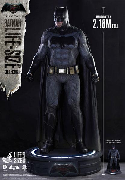 【ライフサイズ・マスターピース】『バットマン vs スーパーマン』1/1スケールレプリカ バットマン[ホットトイズ]【同梱不可】【送料無料】《在庫切れ》