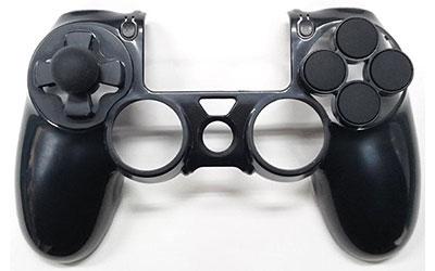 PS4コントローラー用カスタムカバー for FPS【ARMOR GEAR+(アーマーギアプラス)】[アクラス]《在庫切れ》