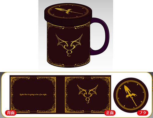 東方波天宮 フタ付きマグカップ「レミリア・スカーレット」[サーファーズパラダイス]《取り寄せ※暫定》
