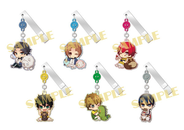 The New Prince of Tennis - YuraYura Clip Collection Vol.4 -Animals and Princes- 6Pack BOX(Pre-order)新テニスの王子様ゆらゆらクリップコレクション第4弾~動物と王子様~ 6個入りBOXAccessory