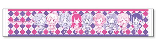 Love Live! School idol diary - Scarf Towel: Zennin Issho(Pre-order)『ラブライブ!School idol diary』マフラータオル 全員一緒Accessory