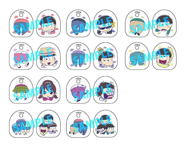 トイズワークスコレクションにいてんごむっ!くりっぷ おそ松さん 10個入りBOX[キャラアニ]《発売済・在庫品》