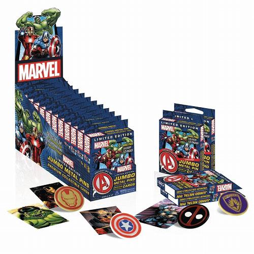 マーベル/ メタルピン&プレミアムコレクションカード: 12個入りボックス[ウィズキッズ]《在庫切れ》
