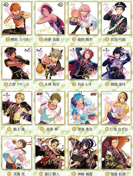 あんさんぶるスターズ! ビジュアル色紙コレクション3 16個入りBOX[エンスカイ]《在庫切れ》