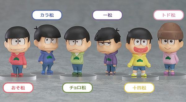 Osomatsu-san - Trading Figure 6Pack BOX(Pre-order)おそ松さん トレーディングフィギュア 6個入りBOXAccessory