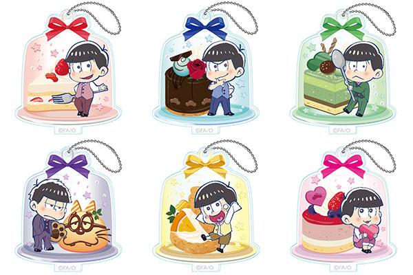 おそ松さん とじコレ アクリルキーチェーン 7個入りBOX[ツインクル]《発売済・在庫品》