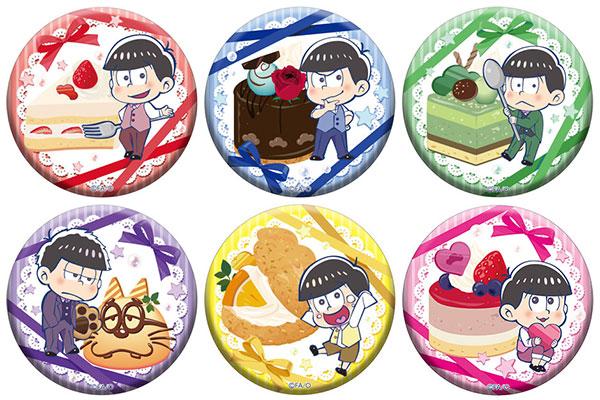 おそ松さん とじコレ 缶クリップバッジ 7個入りBOX[ツインクル]《発売済・在庫品》