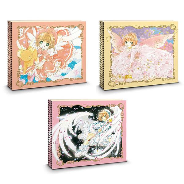 カードキャプターさくら クロッキーブック(A・B・C柄 三冊セット)[KADOKAWA]《在庫切れ》