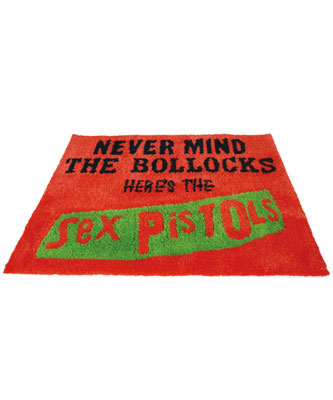 MEDICOMTOY LIFE Entertainment MLE SEX PISTOLS NEVER MIND RUG MAT[メディコム・トイ]《取り寄せ※暫定》