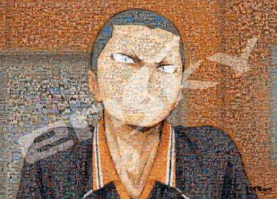 ジグソーパズル ハイキュー!!セカンドシーズン モザイクアート 田中龍之介 300ラージピース (300-L509)[エンスカイ]《取り寄せ※暫定》