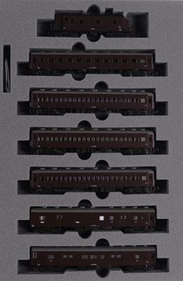 10-1320 スハ32系 中央本線普通列車 7両セット(特別企画品)[KATO]《在庫切れ》
