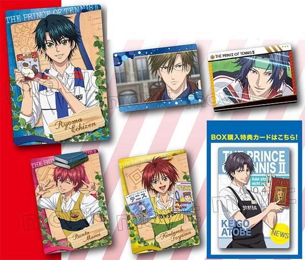 【特典】「新テニスの王子様」トレーディングカード~書店の王子様~ 8パック入りBOX[ムービック]《発売済・在庫品》