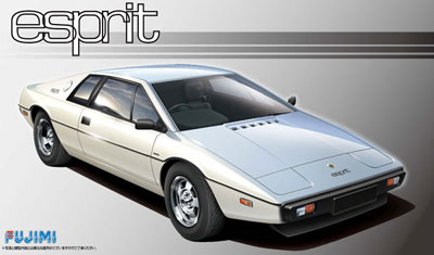 1/24 リアルスポーツカーシリーズ No.72 ロータス エスプリ S1 プラモデル[フジミ模型]《取り寄せ※暫定》