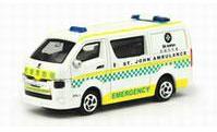 No.21 トヨタ ハイエース 聖ヨハネ病院 救急車 ※リアハッチ開閉可能[TINY]《発売済・在庫品》