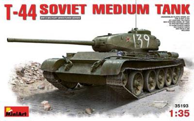 1/35 T-44ソビエト中戦車 プラモデル[ミニアート]《取り寄せ※暫定》