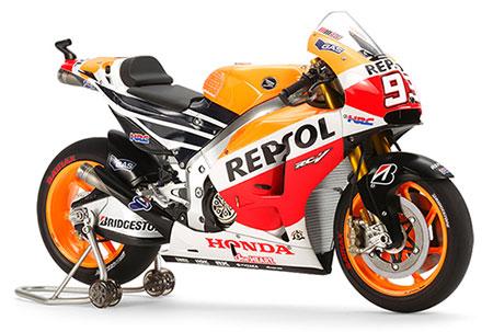 1/12 オートバイシリーズ No.130 レプソル Honda RC213V '14 プラモデル[タミヤ]《取り寄せ※暫定》