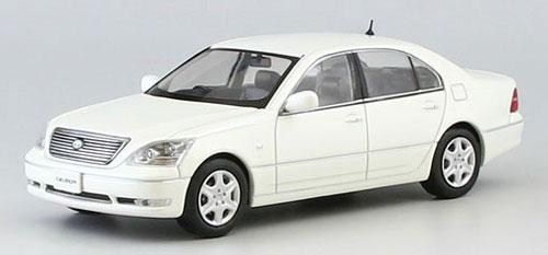 京商オリジナル 1/43 トヨタ セルシオ (F30) Cタイプ ホワイトパール クリスタルシャイン[京商]《取り寄せ※暫定》