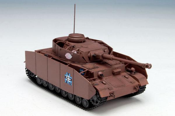 ガールズ&パンツァー 1/72 IV号戦車D型改(H型仕様) あんこうチーム プラモデル[プラッツ]《取り寄せ※暫定》