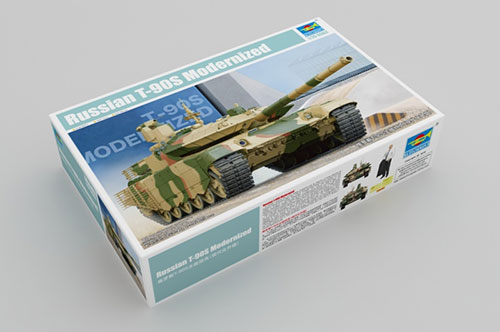 1/35 ロシア連邦軍 T-90SM主力戦車 プラモデル[トランペッターモデル]《取り寄せ※暫定》