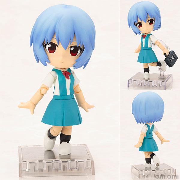 Cu-poche - Rebuild of Evangelion: Rei Ayanami Posable Figure(Pre-order)キューポッシュ ヱヴァンゲリヲン新劇場版 綾波レイ 可動フィギュアNendoroid