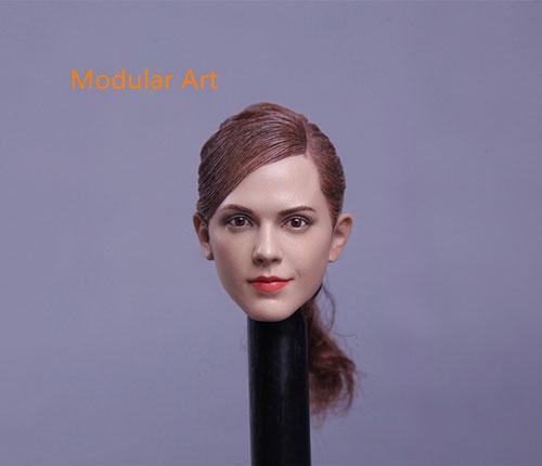 1/6 西洋女性ヘッド 012 (MA012)(再販)[モジュラーアート]《在庫切れ》