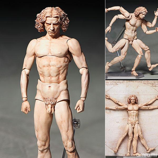 figma テーブル美術館 ウィトルウィウス的人体図(再販)[フリーイング]《01月予約》