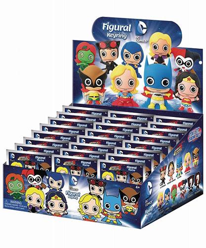 DCコミックス/ レーザーカット フィギュラル・キーリング ウーマン・オブ・DCコミックス: 24個入りBOX[Monogram]【送料無料】《在庫切れ》