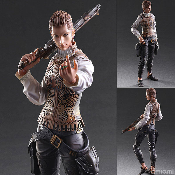 Play Arts Kai - Final Fantasy XII: Balthier(Pre-order)プレイアーツ改 ファイナルファンタジーXII バルフレアScale Figure