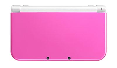 Newニンテンドー3DS LL 本体 ピンク×ホワイト[任天堂]【送料無料】《在庫切れ》