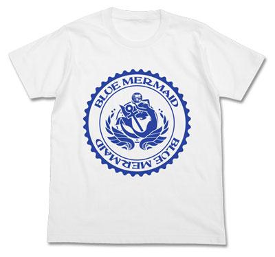 ハイスクール・フリート ブルーマーメイドTシャツ/ホワイト-XL