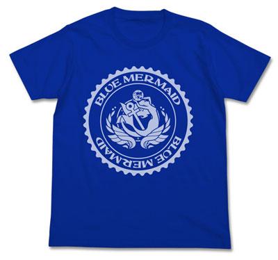 ハイスクール・フリート ブルーマーメイド ドライTシャツ/コバルトブルー-XL