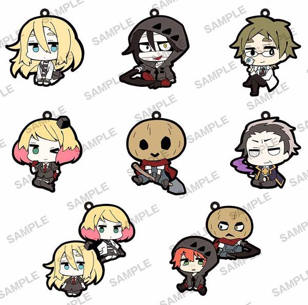 Satsuriku no Tenshi - Trading Rubber Strap 8Pack BOX(Pre-order)殺戮の天使 トレーディングラバーストラップ 8パック入りBOXAccessory