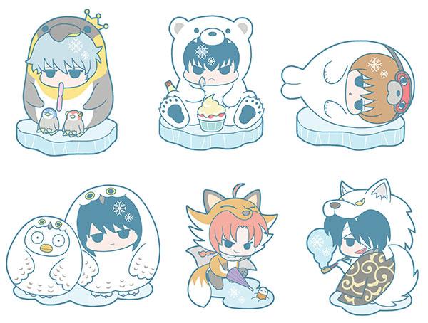 Rubber Mascot - Gintama Hata Ouji to Koori no Doubutsu ja! Hen 6Pack BOX(Pre-order)ラバーマスコット 銀魂 ハタ皇子と氷の動物じゃ!編 6個入りBOXAccessory