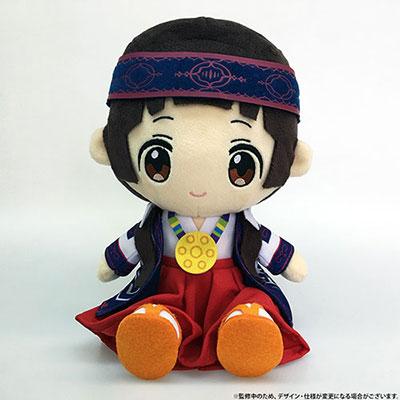 Kuma Miko: Girl Meets Bear - Machi Amayadori Plush(Pre-order)くまみこ 雨宿まち ぬいぐるみAccessory
