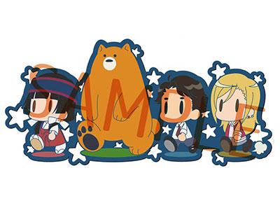 Kuma Miko: Girl Meets Bear - Rubber Strap(Pre-order)くまみこ ラバーストラップAccessory