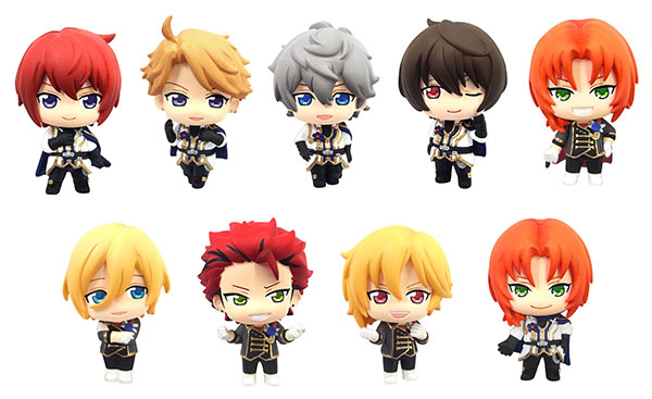 [Bonus] Color Colle - Ensemble Stars! Vol.5 Hangyaku! Ou no Kikou Hen 8Pack BOX(Pre-order)【特典】カラコレ あんさんぶるスターズ! 第5弾 反逆!王の騎行編 8個入りBOXAccessory