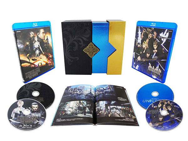 BD Film Collections Box FINAL FANTASY XV 【通常版】(Blu-ray Disc)[アニプレックス]《取り寄せ※暫定》