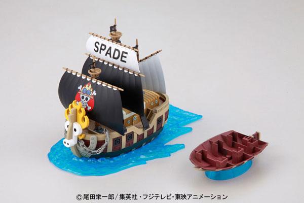 ワンピース 偉大なる船コレクション スペード海賊団の海賊船 プラモデル[バンダイ]《発売済・在庫品》