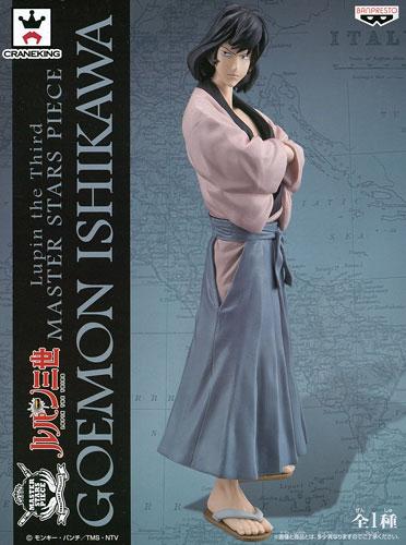 【中古】(本体A/箱B)ルパン三世 MASTER STARS PIECE GOEMON ISHIKAWA(プライズ)[バンプレスト]《発売済・在庫品》