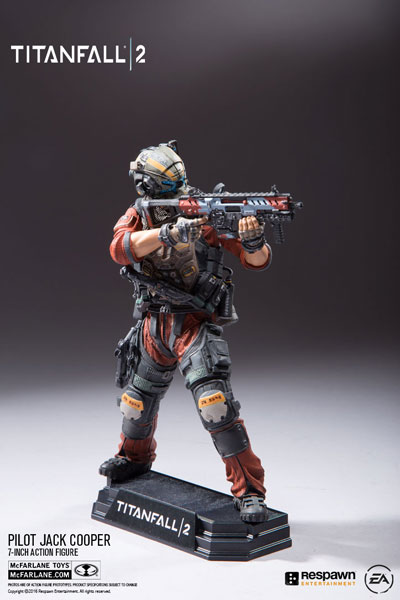Color Tops Red Wave - Titanfall 2: Jack Cooper 7 Inch Action Figure(Provisional Pre-order)カラートップス レッドウェーブ/ タイタンフォール2: ジャック・クーパー 7インチ アクションフィギュアScale Figure